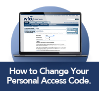 ow to Change Your Personal Access Code