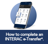 How to complete an etransfer