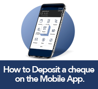 How to deposit a cheque