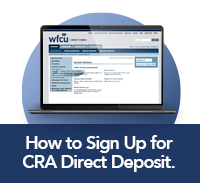 How to sign up for CRA direct deposit