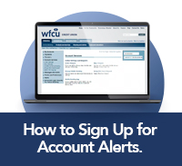 How to sign up for alerts