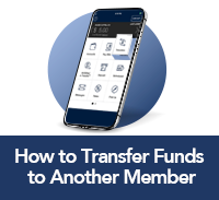 how to transfer to another member