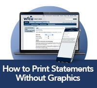 How To Print Statements without Graphics