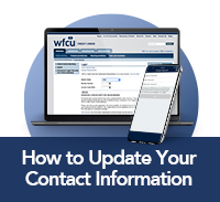 how to update your contact info
